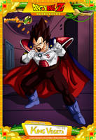 Dragon Ball Z - King Vegeta by DBCProject