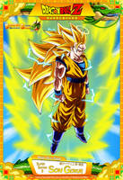 Dragon Ball Z - Super Saiyan 3 Son Gokuh by DBCProject