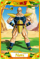 Dragon Ball Z - Nappa by DBCProject