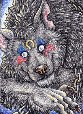 ACEO Trade: Bloodi by Agaave