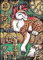 ACEO Trade: Kirsch by Agaave