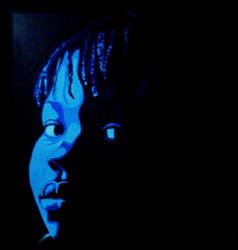 Blue Girl by vanillascream