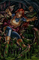 Scarlett vs. Cobra-La by Covert-Operations