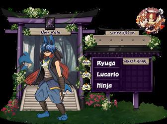 Pokimono - Ryuga by Hylian-Rinku