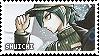 shuichi saihara stamp by oscarpine