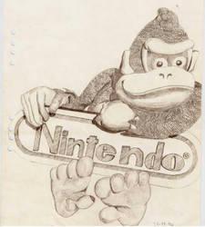 Donkey Kong by Mosabsolum