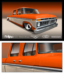 4door 77 ford by SurfaceNick