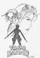 Lara Croft: The Tomb Raider by Forty-Fathoms