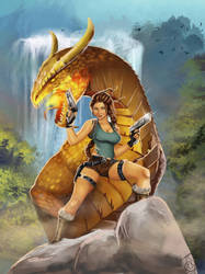 Tomb Raider II: The Dagger of Xian by Forty-Fathoms