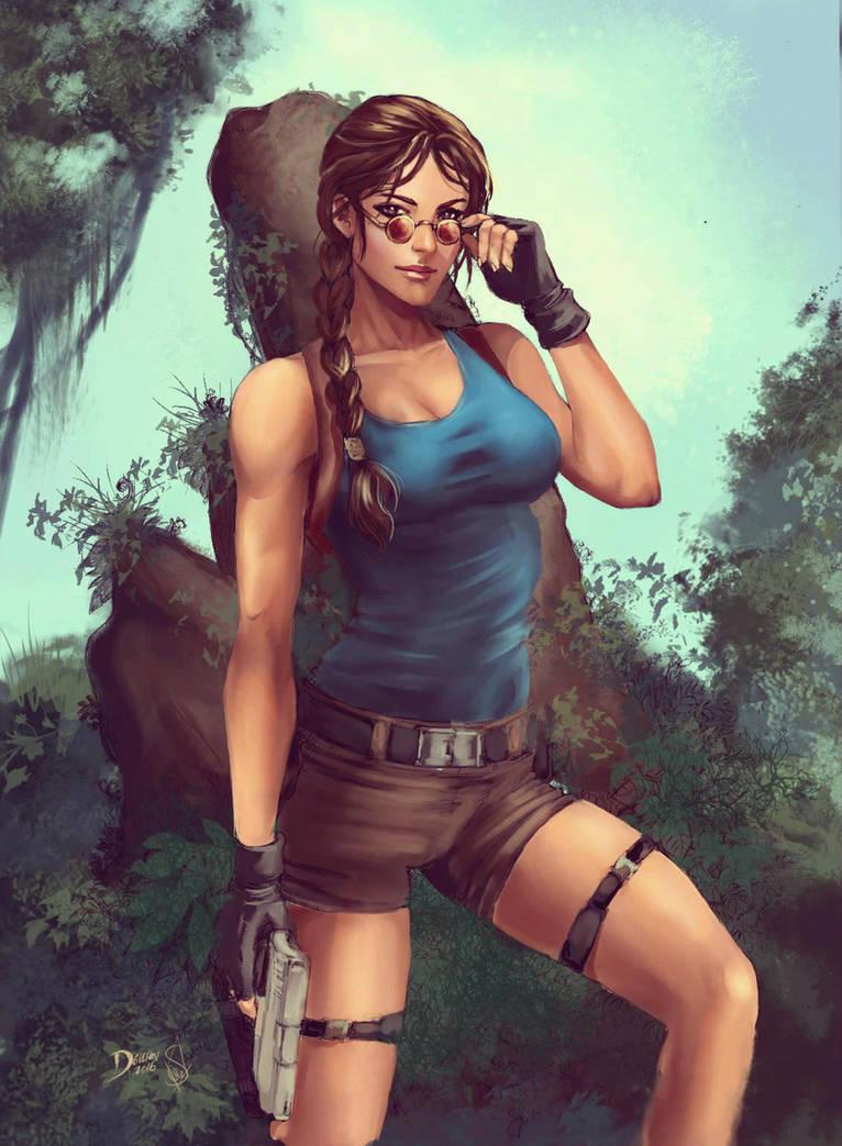 The Tomb Raider - Lara Croft by Forty-Fathoms