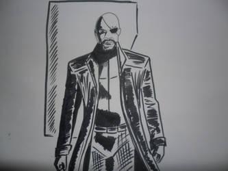 Nick Fury by Ollivieri-art