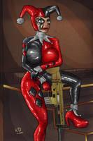 Bimbo X Harley Quinn by KdTrueBone
