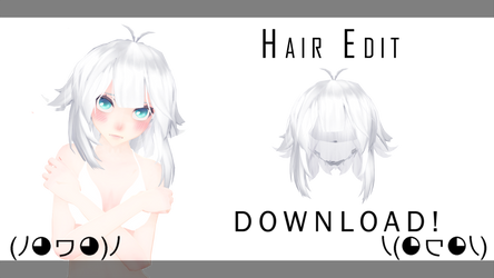 [MMD] TDA Hair Edit! +DL (Tranks for the 40+) by sweet-desiree