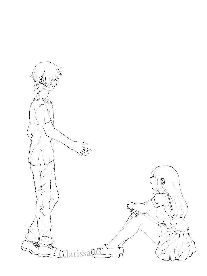 My original sketch - WIP by Clarissa96