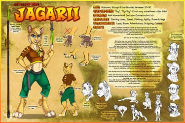 Reference Sheet - Jagarii by JezzKitty