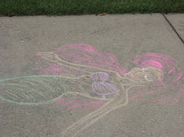 Chalk Ariel by Wicked-Pirate-Queen