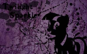 Twilight Splatter Wallpaper by Glitcher007