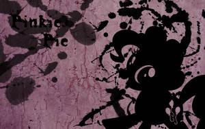 Pinkie Pie Splatter Wallpaper by Glitcher007
