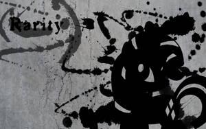 Rarity Splatter Wallpaper by Glitcher007