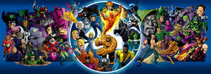 50 For 50 - Fantastic Four by 66lightning