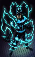 Electrosuit Batman by 66lightning