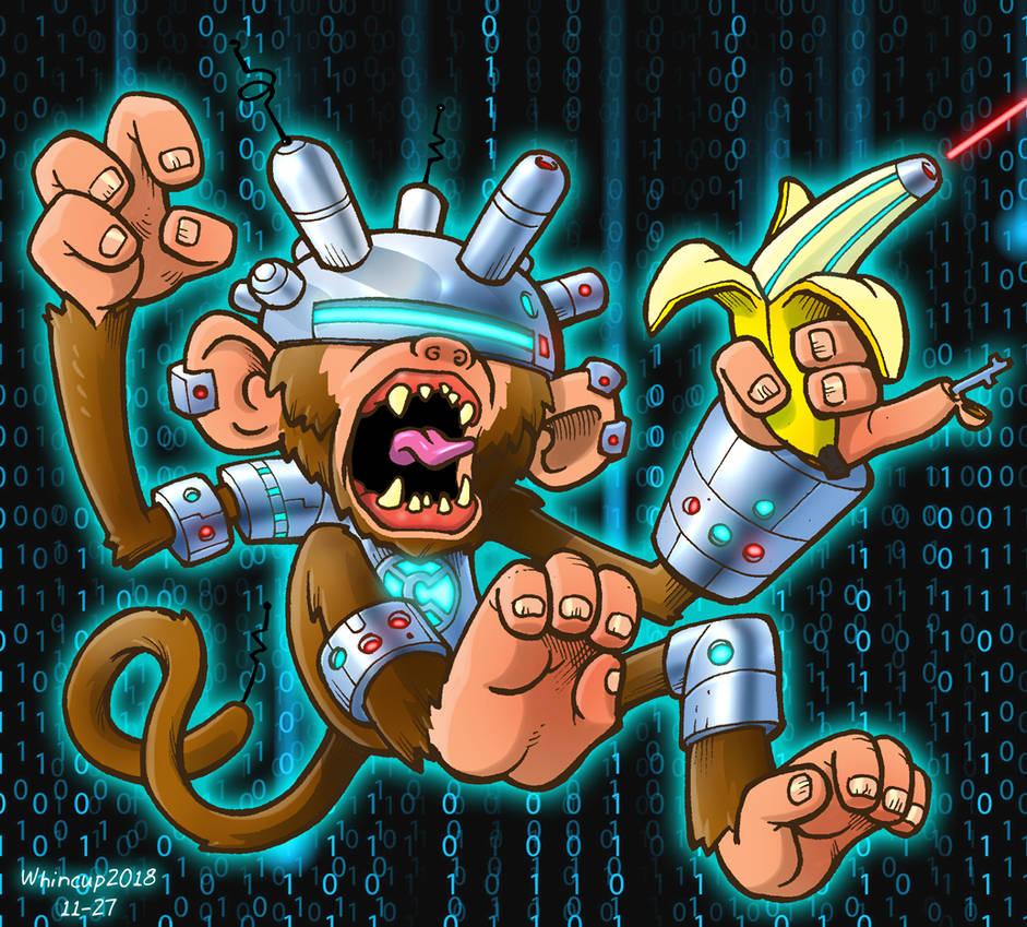 Cyber Monkey by 66lightning