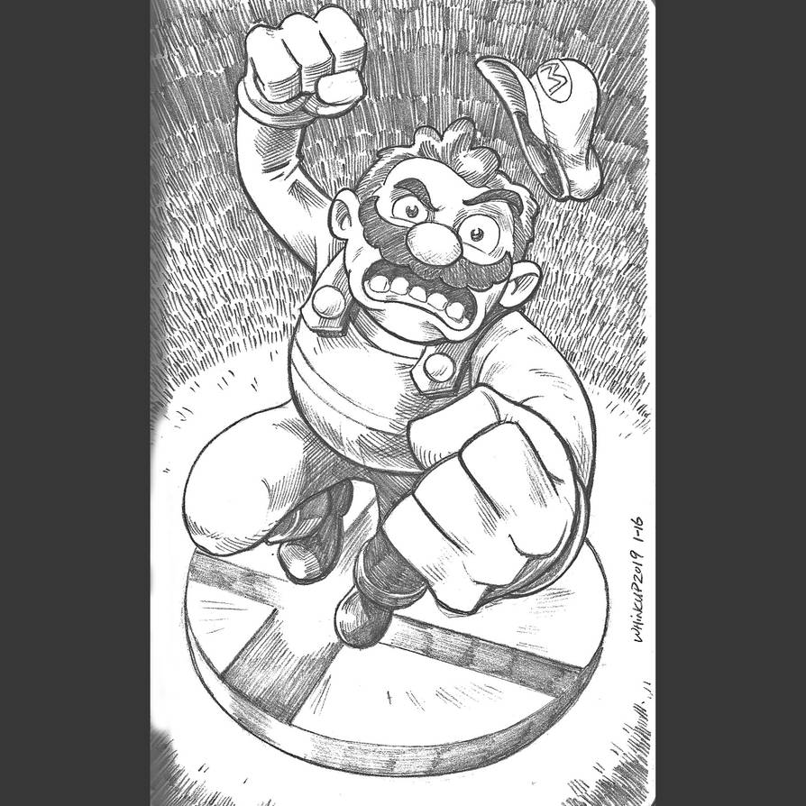 Mario Smash by 66lightning