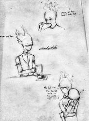 Fire Uncle Grillby by nocturnal-spirit-2DN