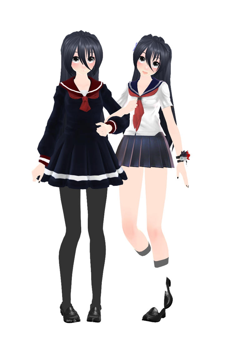 [MMD] Senpai-chan new version [+DL] by Sofy-14