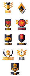 Badges Broken Skies by REDDPRIME