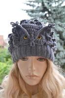 Gray owl by dosiak