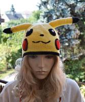Pikachu cap by dosiak