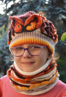 Set cap owl and cowl by dosiak