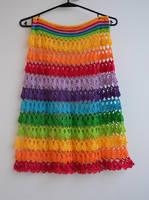 Rainbow skirt by dosiak