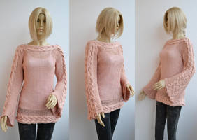 Blouse sweater by dosiak