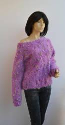 mohair sweater by dosiak