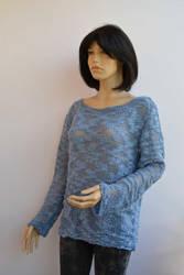 Blue sweater by dosiak