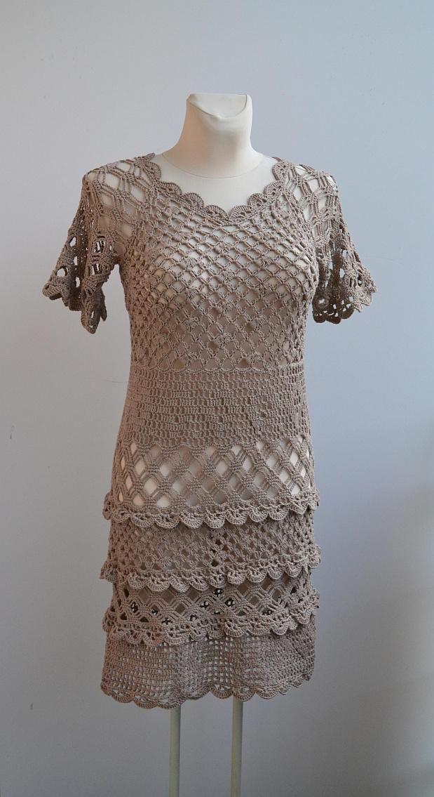 Crochet tunic by dosiak