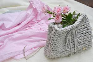 gray bag by dosiak