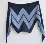 Wonder Woman shawl by dosiak
