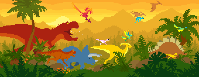 Dinorawrs by dinorun2