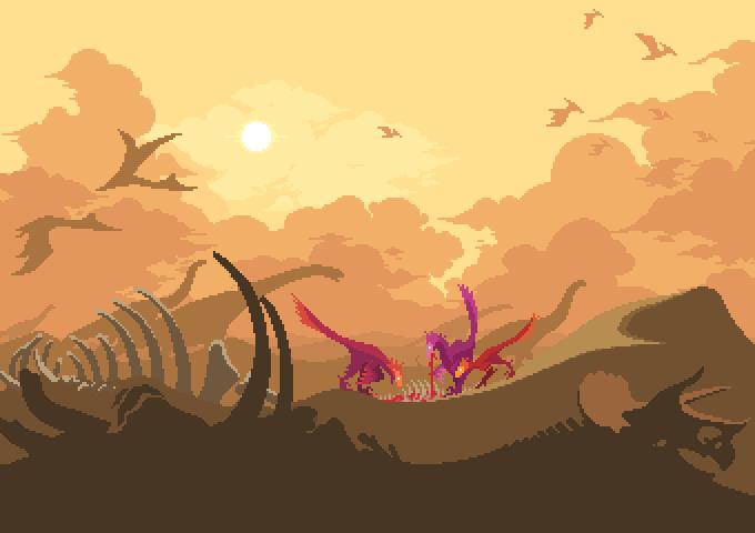 Dino Run 2: Wasteland by dinorun2
