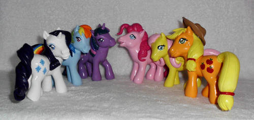 * FOR SALE! * MLP ''Old Meets New'' Custom Group 2 by UniqueTreats
