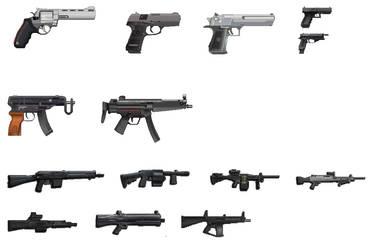 Armas guardadas by cesar993