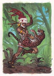 Jaguar hunter by Moulunerie