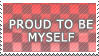 Proud to be myself - stamp by XxX-Toxic-Girl-XxX