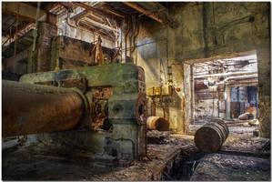 Abandoned Factory X by kiebitz