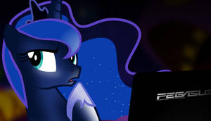 Luna tries to remember the password by tamalesyatole