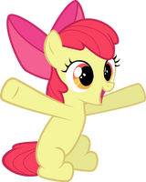 Apple Bloom Just Wants a Hug by tamalesyatole