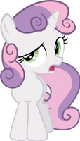 Sweetie Belle not sure if... by tamalesyatole
